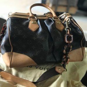 Louis Vuitton Rare Monogram Tortoise Link Bag